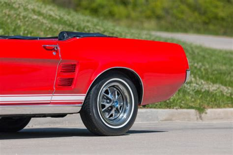 1967 ford mustang gta convertible 1 of 559 produced with this paint and trim for sale photos 1967 ford mustang gta convertible 390 v8 power steering and brakes for sale ford mustang gta