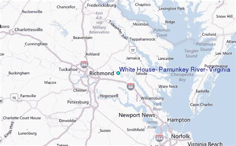 where is the white house located white house pamunkey river virginia tide station location guide