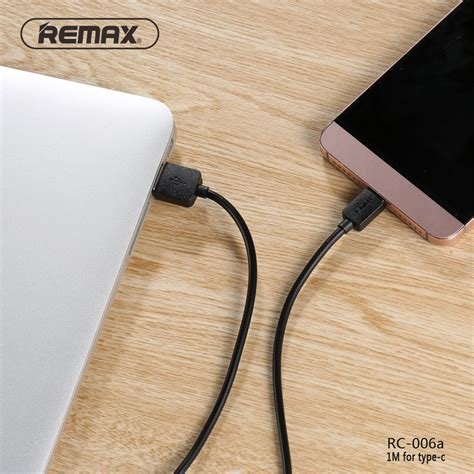 Usb Data Cable Remax Rc 006 remax light kabel usb type c rc 006a black