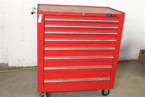 Mac Box mac tools 8 drawer rolling toolbox with tools 50 pieces