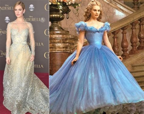 lily james on cinderella waist controversy why do cinderella star lily james did waist training and liquid