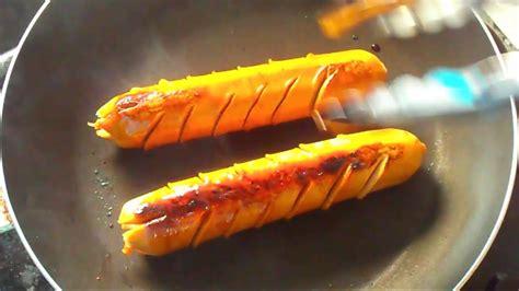 resep sosis bakar teflon pedas  enak youtube