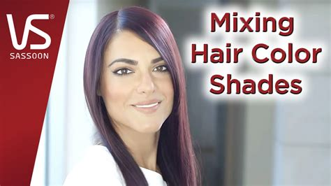 mixing hair color salonist hair color tips mixing hair color shades vidal