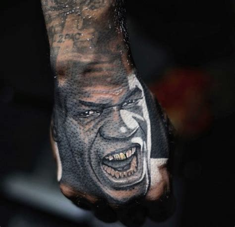mike tyson tattoo the reveals bad a new mike tyson on his