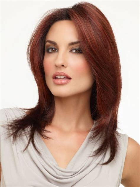 weavon style for heart face 30 best medium length haircuts for square face elle