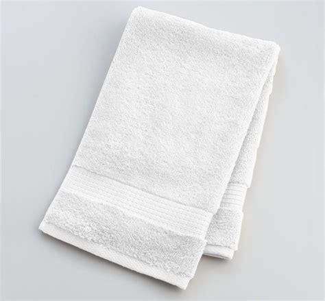 Economy white hand towel 16 quot x 27 quot texon athletic towel