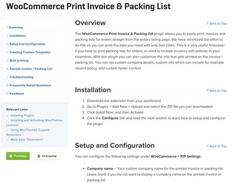 woocommerce printable invoice woocommerce print invoice packing list 25