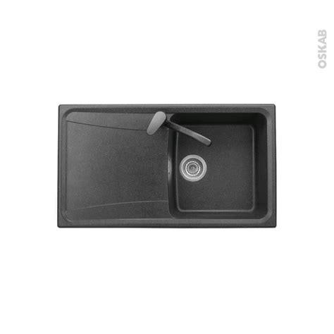 Evier Granit Noir 1 Bac by Evier De Cuisine Ofento Granit Noir 1 Bac 233 Gouttoir 224