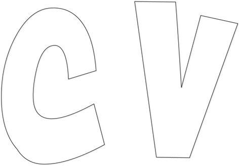 moldes de letras grandes para imprimir recortar letras bonitas para imprimir y recortar grandes www