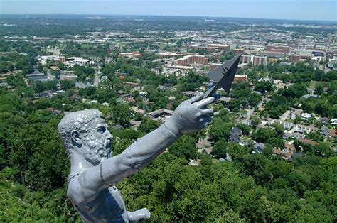 The Vulcan vulcan statue alabama