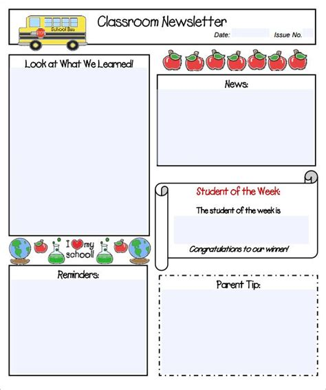 best 25 kindergarten newsletter ideas on pinterest