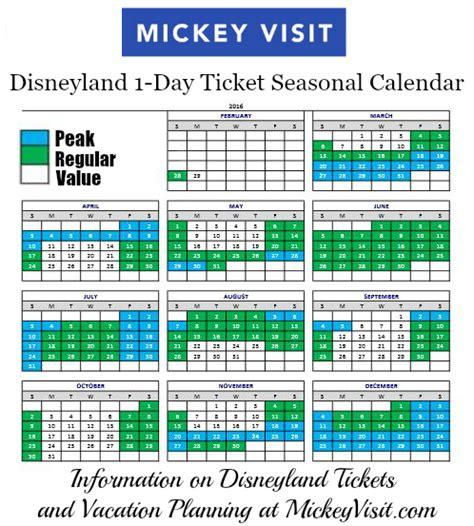 Disney Discount Calendar Find Discount Disneyland Tickets 2018 Get Them Cheap
