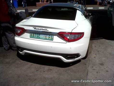 maserati in south africa maserati granturismo spotted in bloemfontein south africa