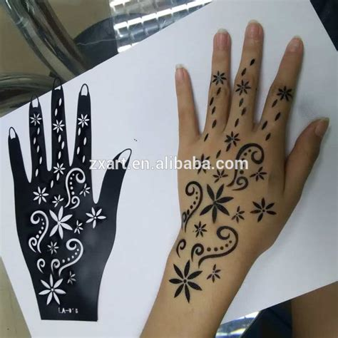 temporary tattoo online buy india india type airbrush henna sticker henna tattoo stencil