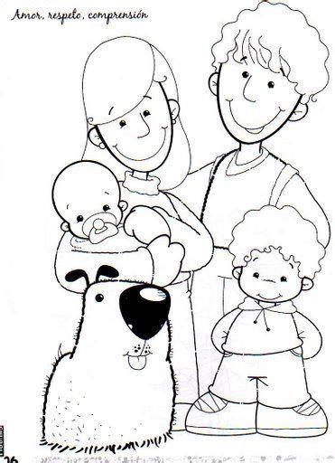 imagenes sobre la familia para dibujar dibujos del d 237 a de la familia para imprimir y pintar