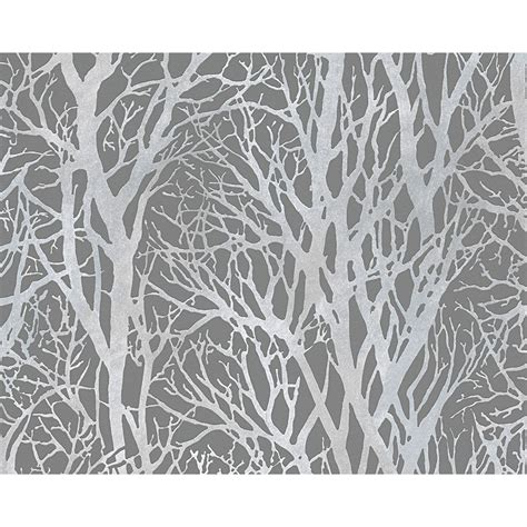 light grey wallpaper trees image gallery tree motif