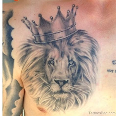 heart of a lion chest tattoo www pixshark com images