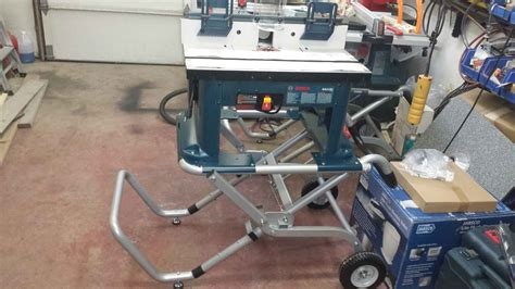 Bench Top Router Bosch Router Table And Gr Stand Pro Construction Forum
