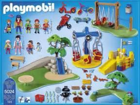 playmobil city 5024 pas cher grand jardin d enfants