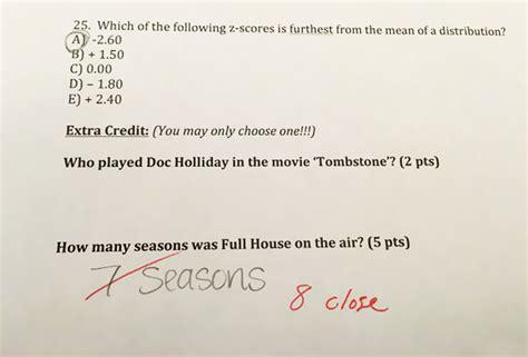 preguntas de rescate chistosas profesor da puntos extras en examen con preguntas graciosas
