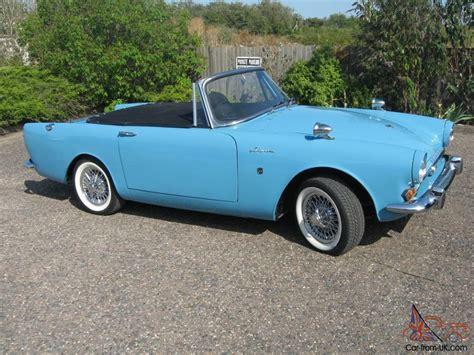1965 sunbeam alpine sunbeam alpine 1965 coupe holbay 1592cc twin zentith