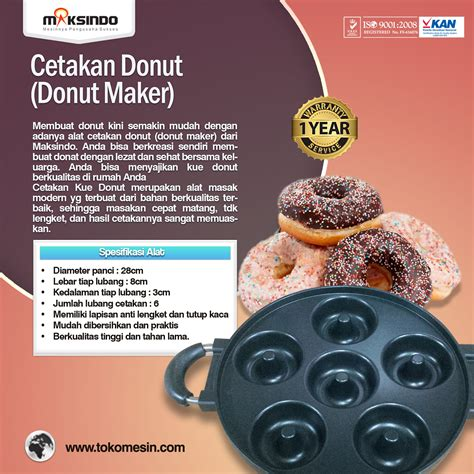 Maker Berkualitas jual cetakan donut donut maker di blitar toko mesin maksindo blitar toko mesin maksindo blitar