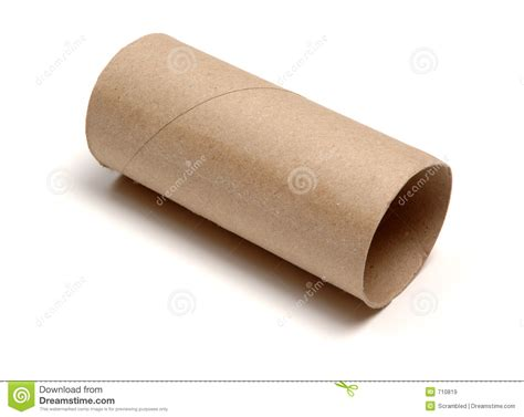 roll of empty loo roll stock image image of background toilet