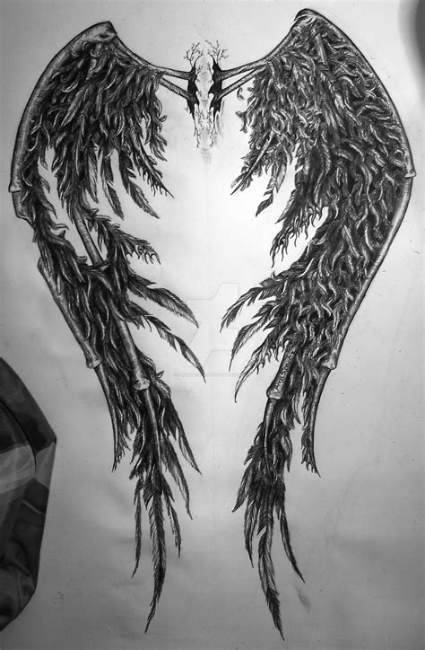 fallen angel wings tattoo designs fallen wings www pixshark images galleries