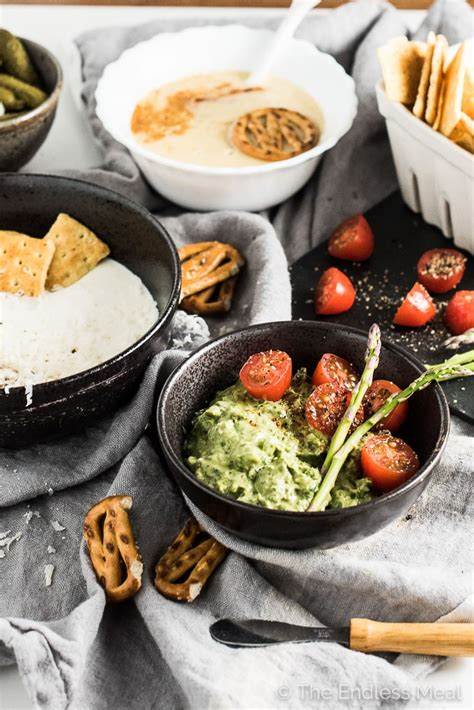 three easy party dips 5 simple ingredients the endless meal
