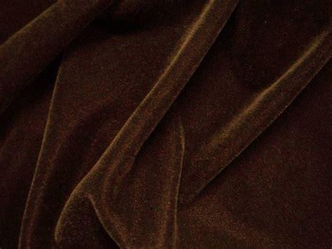 Brown Velvet by Brown Velvet Fabric 45 Quot 3 Yds Ebay
