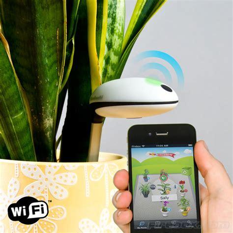 Cool Drink Coasters by Koubachi Wi Fi Plant Sensor The Green Head