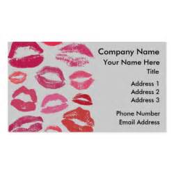 zazzle templates twelve lipstick sided standard business cards