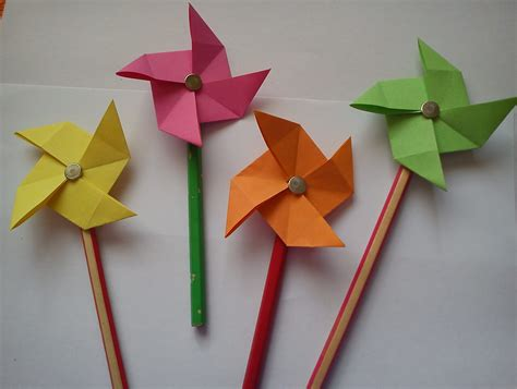Simple And Craft With Paper - paper folding crafts for ye craft ideas