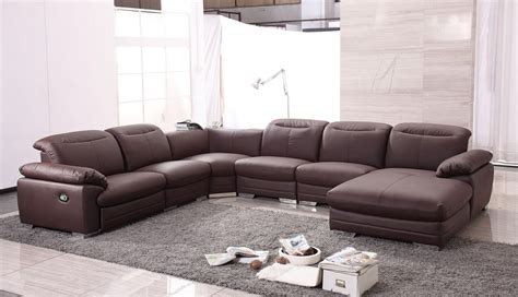 Contemporary Sofa Recliner Sectional Sofas With Recliners With Modern Look Plushemisphere