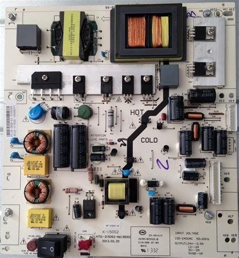 Regulator Tv Led Lg power supply regulator board schematic cce lk42d and philips 42pfl3041 led lcd tv electro help