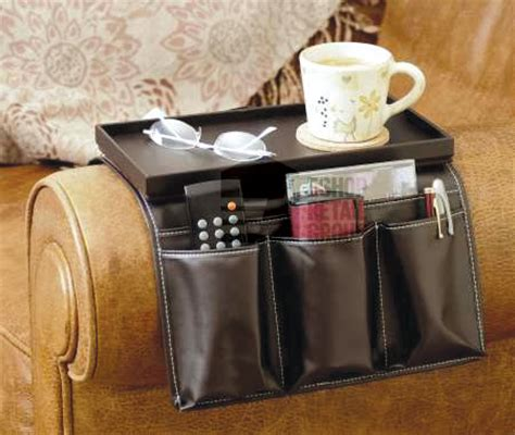 armchair remote holder luxury faux leather sofa armchair remote control holder