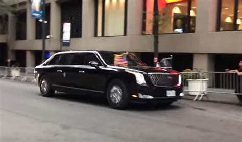 new limo president s new limo quot the beast quot has reported for duty