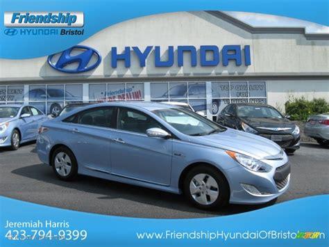 2012 blue sky metallic hyundai sonata hybrid 65228629 gtcarlot car color galleries