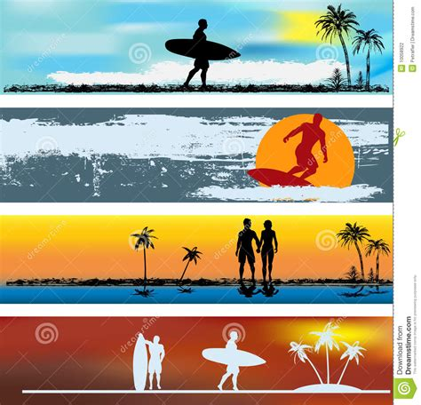 photography banner template tropical web banner templates stock photography