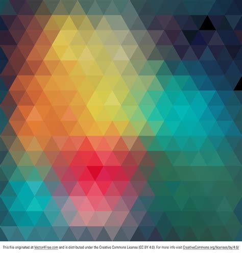 colorful wallpaper eps free geometric colorful abstract background vector
