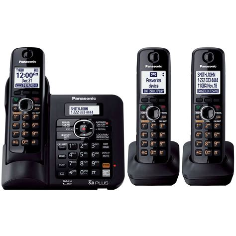panasonic dect 6 0 cordless phone with anwering system
