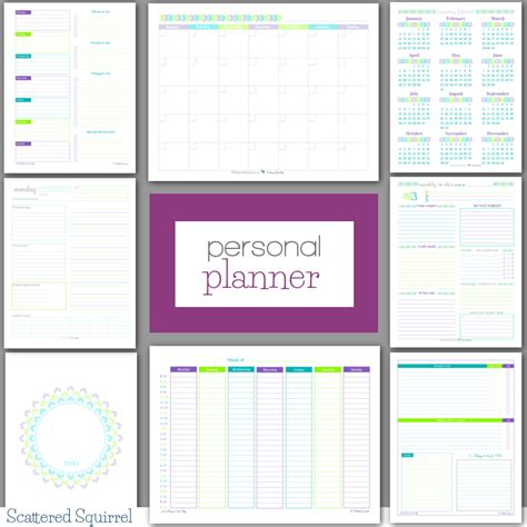 printable planner pages free personal planner free printables weekly planner free