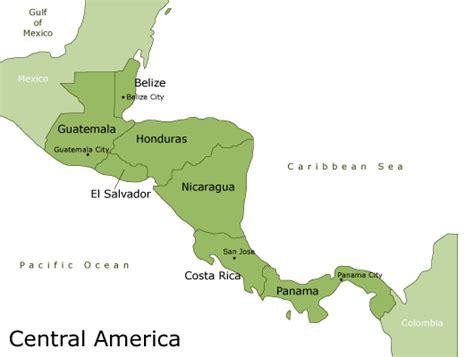 america rainforest map central america travel deals eco tours