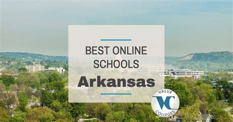 Mba Programs Arkansas by Top 10 Best Colleges In Arkansas Value Colleges
