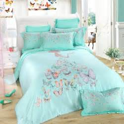 Duvet Cover Pattern Queen Turquoise Grey And Pink Butterfly Print Little