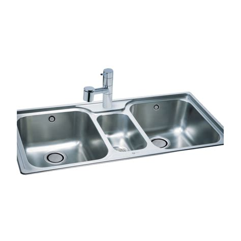 kitchen sink bowl carron 250 2 5 bowl 1030x510mm stainless