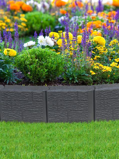 lawn garden stomp block edging for landscape lawn garden