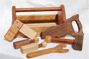 wooden tools heirloom children s wooden toy tool set by ahigherplanedesigns