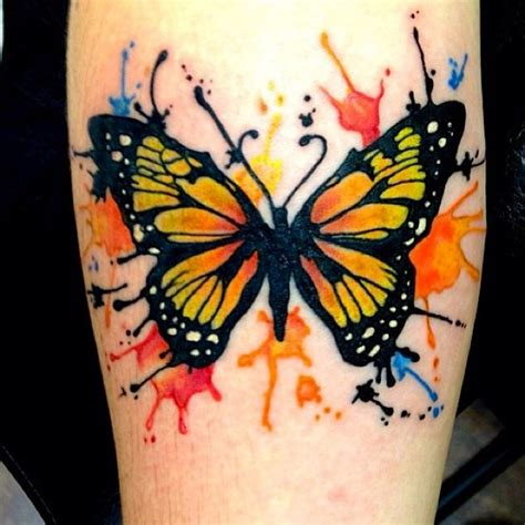 tattoo butterfly watercolor watercolor butterfly tattoo on forearm butterfly tattoos