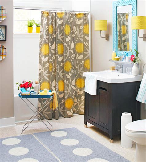 gray bathroom decor yellow and teal bathroom decor images